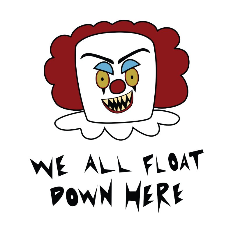 Killer Clowns Float by Spot Colors's Artist Shop