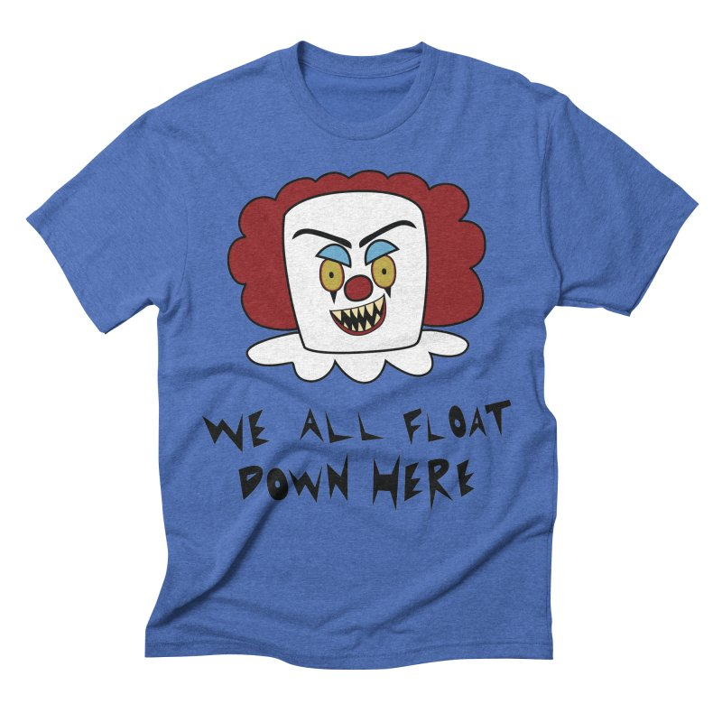 Killer Clowns Float Men's Triblend T-Shirt by Spot Colors's Artist Shop