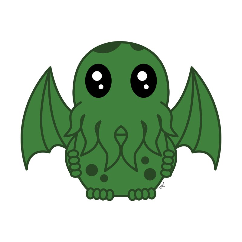 Cutie Cthulhu by Spot Colors's Artist Shop