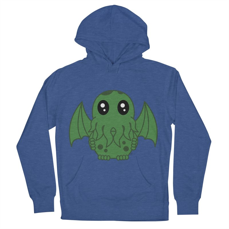 Cutie Cthulhu Women's Pullover Hoody by Spot Colors's Artist Shop