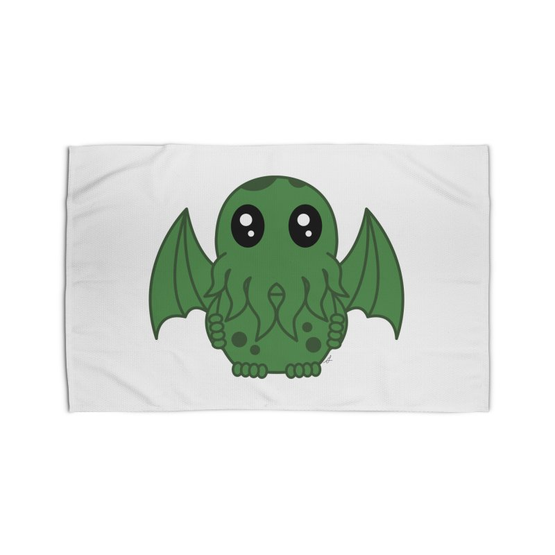 Cutie Cthulhu Home Rug by Spot Colors's Artist Shop