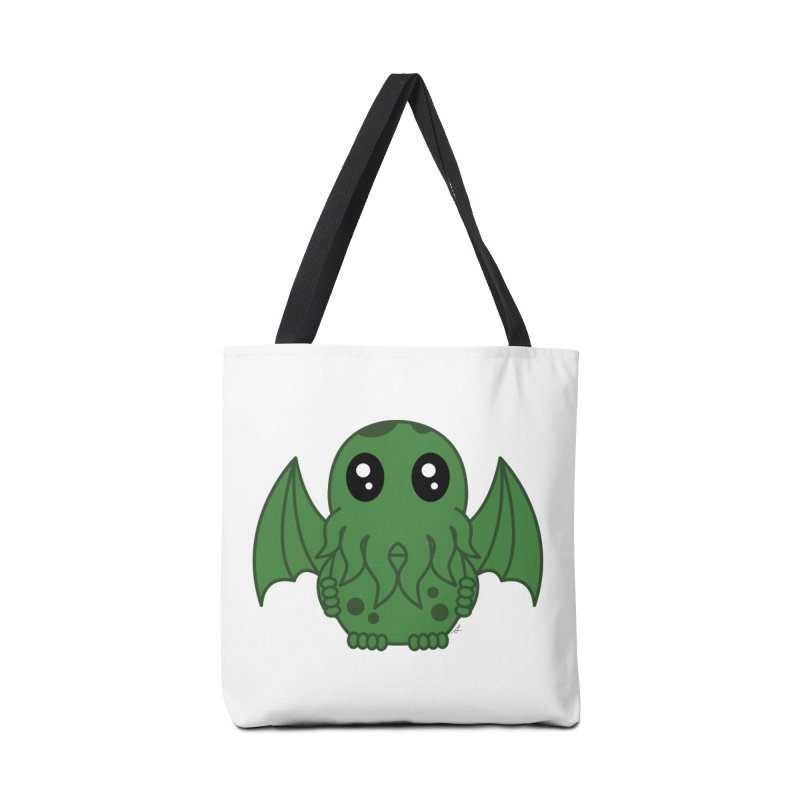 Cutie Cthulhu Accessories Bag by Spot Colors's Artist Shop