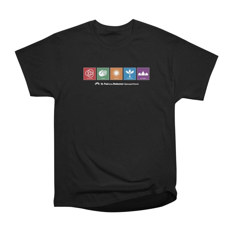 What We Do Men's Heavyweight T-Shirt by St. Paul & the Redeemer
