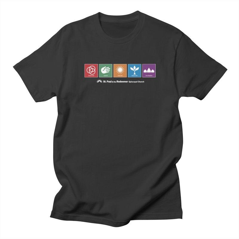 What We Do Men's Regular T-Shirt by St. Paul & the Redeemer