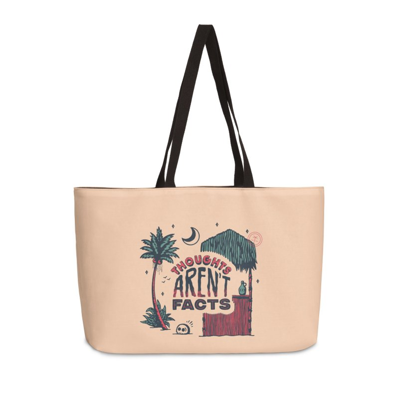 Thoughts Aren't Facts Too Accessories Bag by Spring Break Jake's Artist Shop