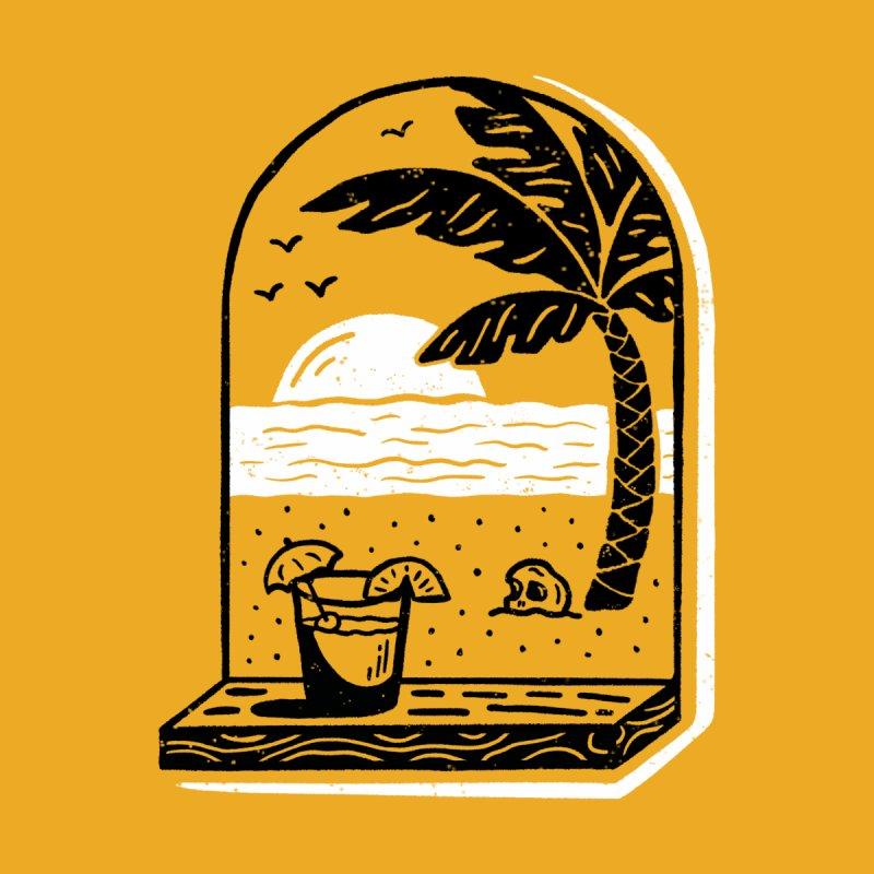 An Unbeatable Golden View Accessories Mug by Spring Break Jake's Artist Shop