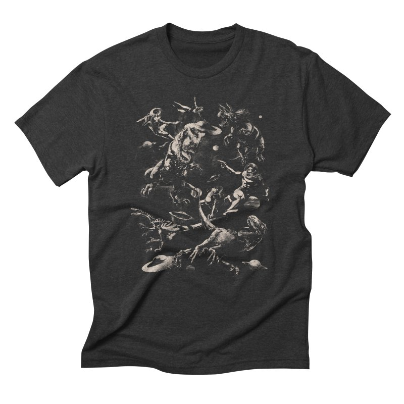Extinction Men's Triblend T-Shirt by SPYKEEE's Artist Shop