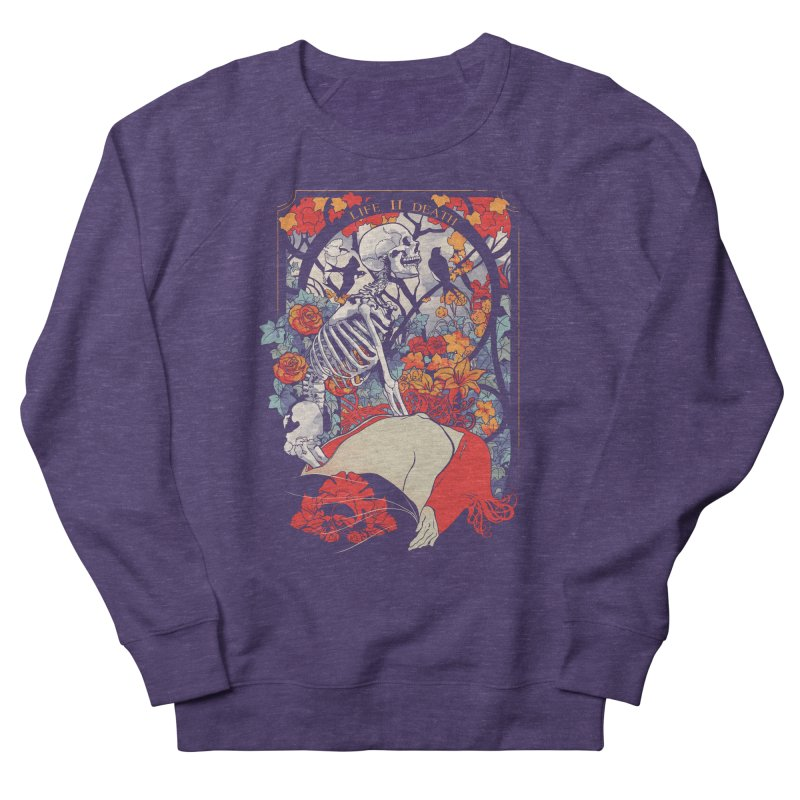 Life & Death Women's Sweatshirt by SPYKEEE's Artist Shop