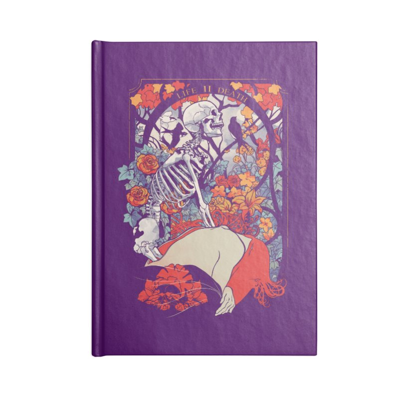 Life & Death Accessories Notebook by SPYKEEE's Artist Shop