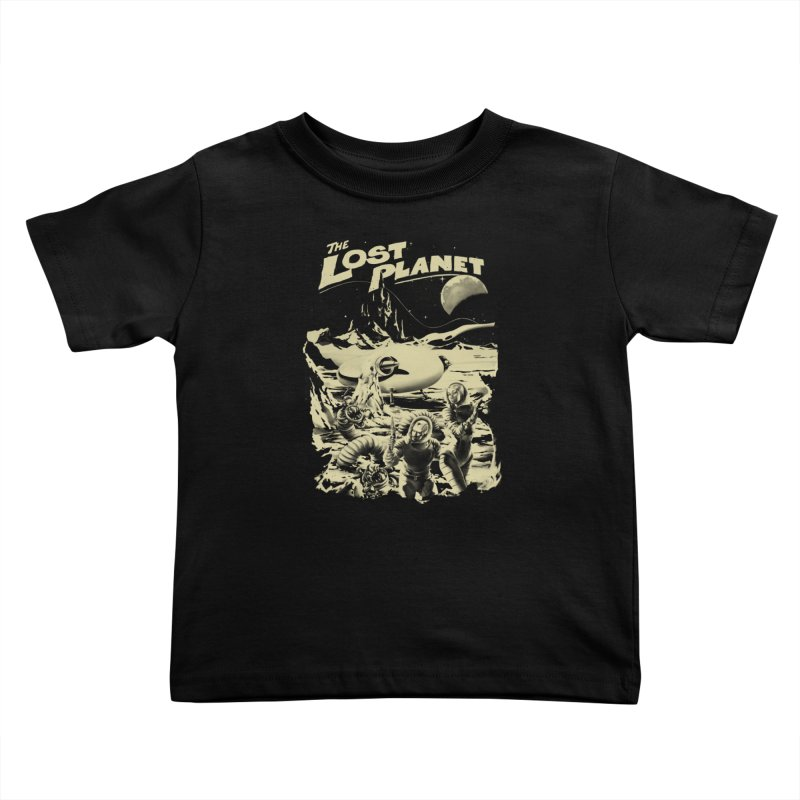 Lost Kids Toddler T-Shirt by SPYKEEE's Artist Shop