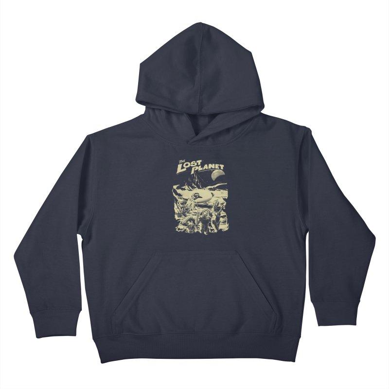 Lost Kids Pullover Hoody by SPYKEEE's Artist Shop