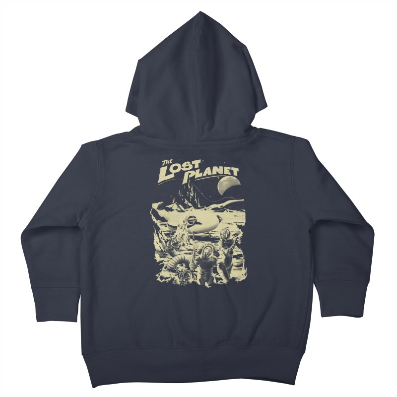 Lost Kids Toddler Zip-Up Hoody by SPYKEEE's Artist Shop