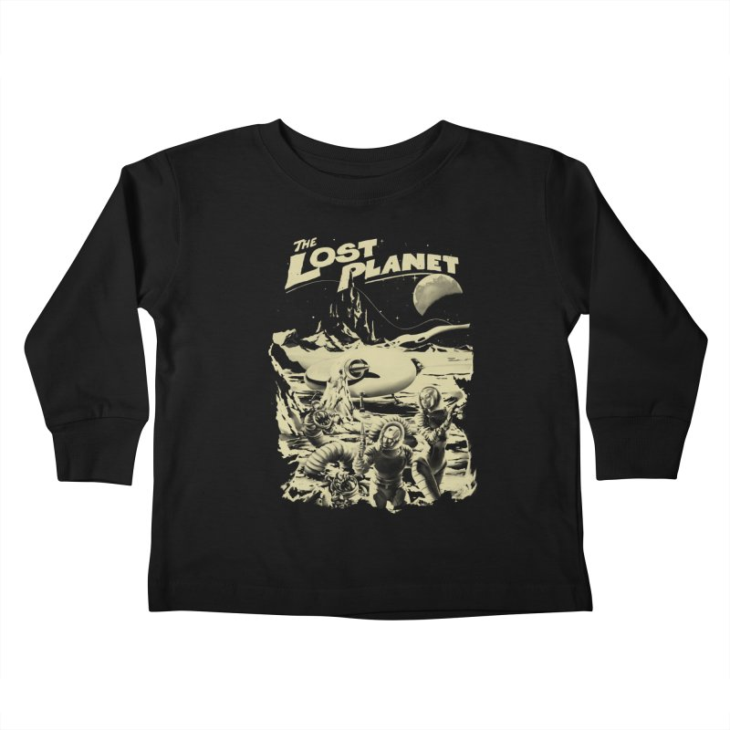Lost Kids Toddler Longsleeve T-Shirt by SPYKEEE's Artist Shop