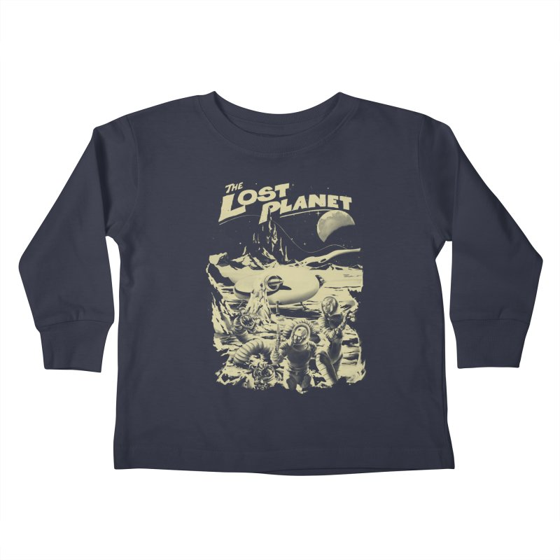 Lost Kids Toddler Longsleeve T-Shirt by SPYKEEE's Artist Shop