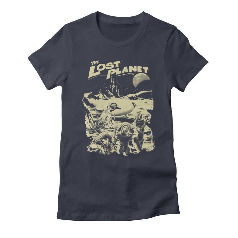 Lost Women's Fitted T-Shirt by SPYKEEE's Artist Shop