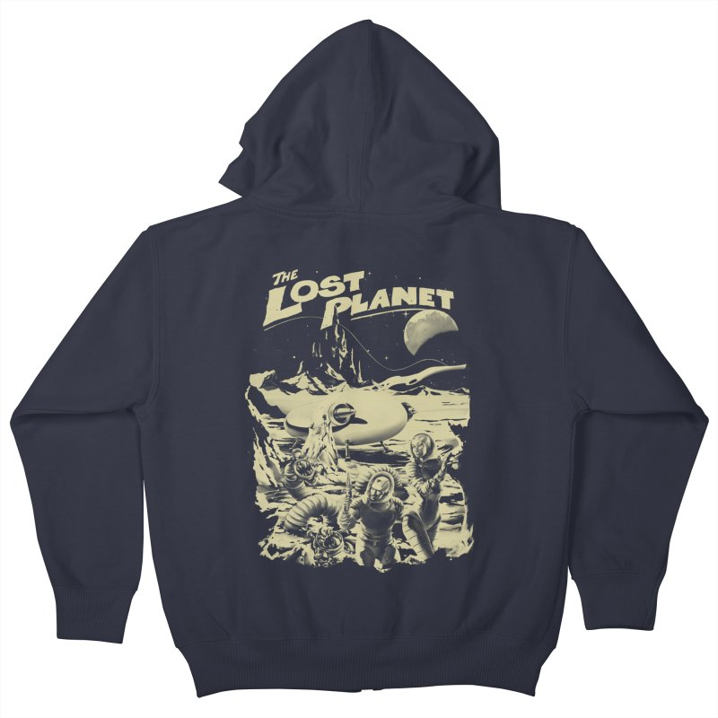 Lost Kids Zip-Up Hoody by SPYKEEE's Artist Shop