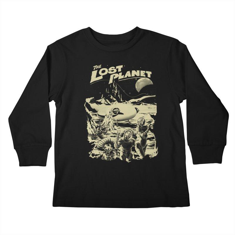 Lost Kids Longsleeve T-Shirt by SPYKEEE's Artist Shop