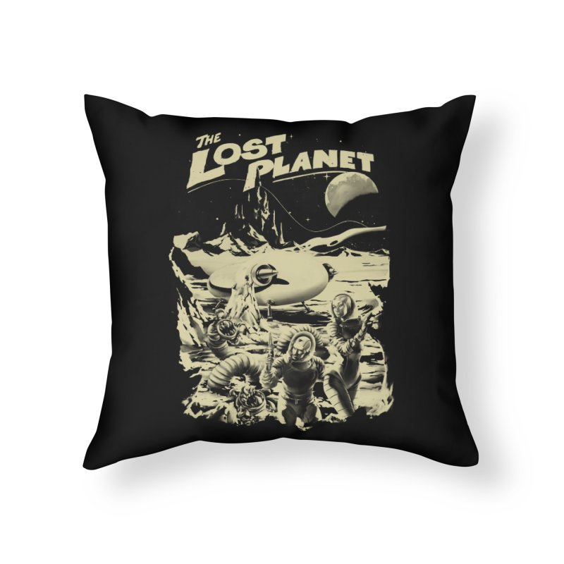 Lost Home Throw Pillow by SPYKEEE's Artist Shop