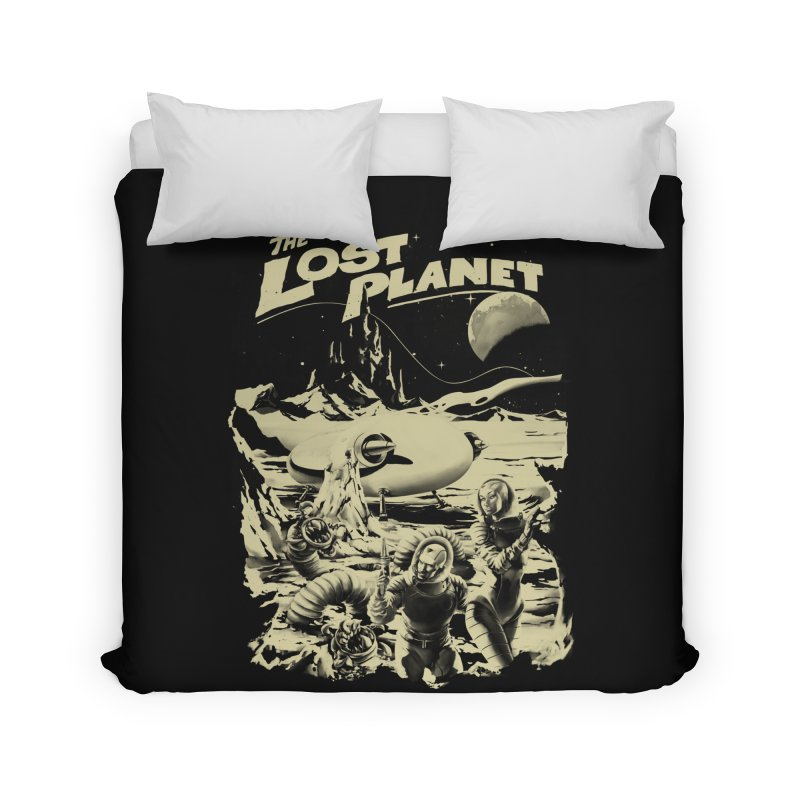 Lost Home Duvet by SPYKEEE's Artist Shop