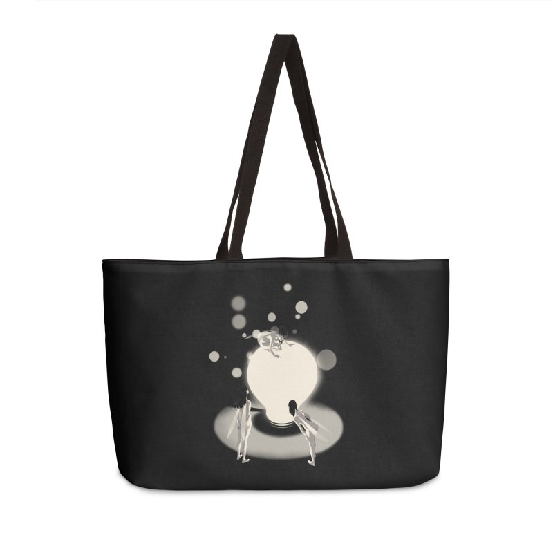 The Curious One Accessories Weekender Bag Bag by SPYKEEE's Artist Shop