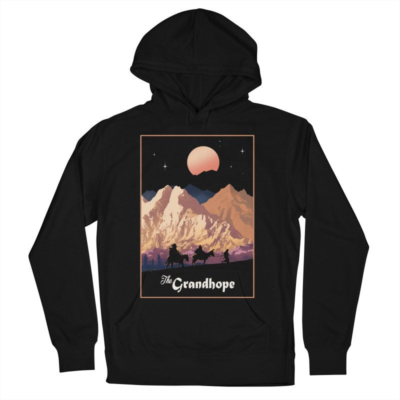 The Grandhope Men's French Terry Pullover Hoody by SPYKEEE's Artist Shop