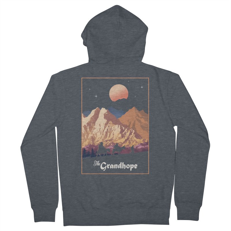 The Grandhope Men's French Terry Zip-Up Hoody by SPYKEEE's Artist Shop