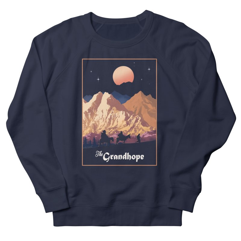 The Grandhope Men's French Terry Sweatshirt by SPYKEEE's Artist Shop