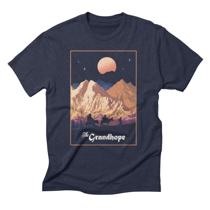 The Grandhope Men's Triblend T-Shirt by SPYKEEE's Artist Shop