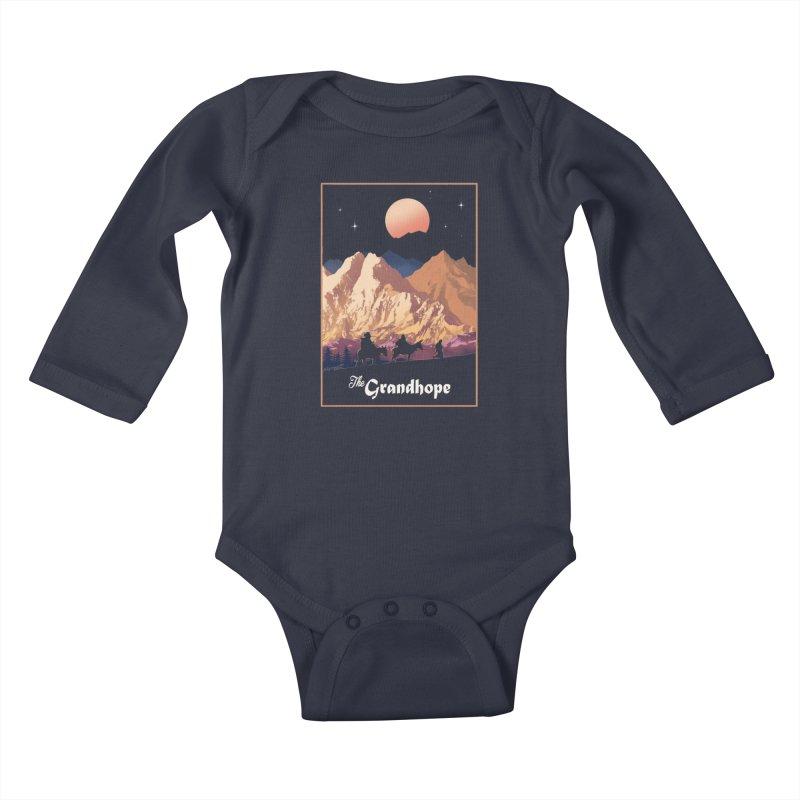 The Grandhope Kids Baby Longsleeve Bodysuit by SPYKEEE's Artist Shop