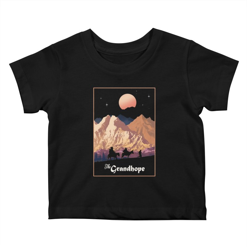 The Grandhope Kids Baby T-Shirt by SPYKEEE's Artist Shop