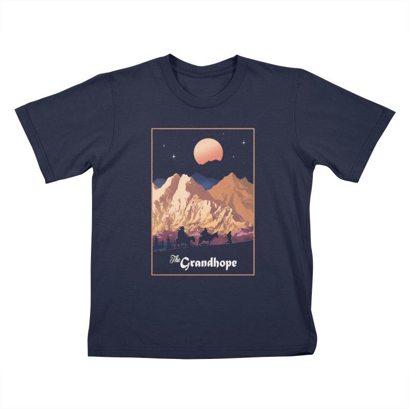 The Grandhope Kids T-Shirt by SPYKEEE's Artist Shop