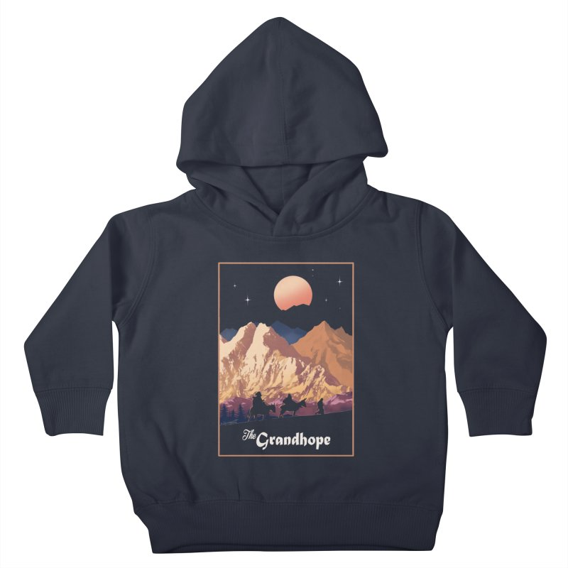 The Grandhope Kids Toddler Pullover Hoody by SPYKEEE's Artist Shop