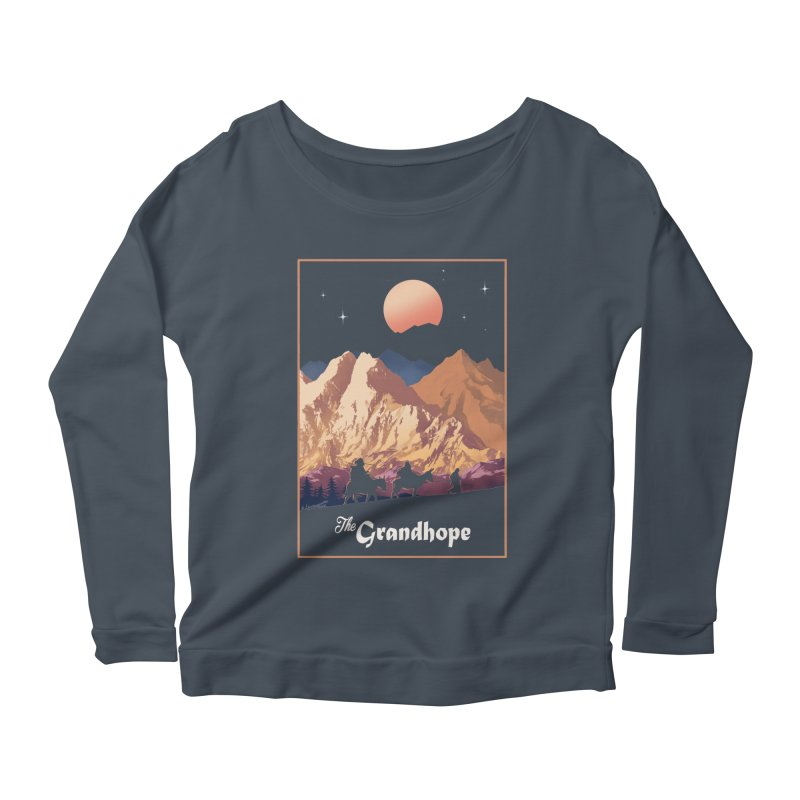 The Grandhope Women's Longsleeve Scoopneck  by SPYKEEE's Artist Shop