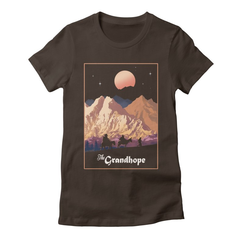 The Grandhope Women's Fitted T-Shirt by spykeee's Artist Shop