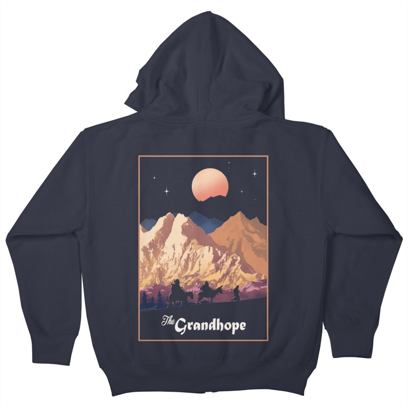 The Grandhope Kids Zip-Up Hoody by spykeee's Artist Shop