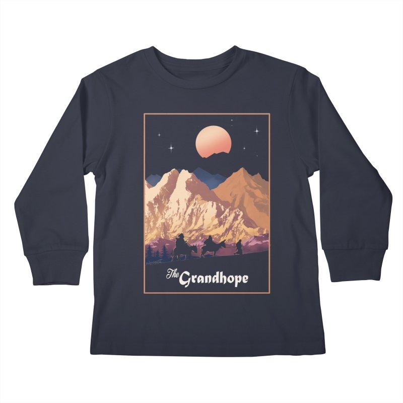 The Grandhope Kids Longsleeve T-Shirt by SPYKEEE's Artist Shop