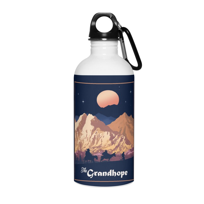 The Grandhope Accessories Water Bottle by SPYKEEE's Artist Shop