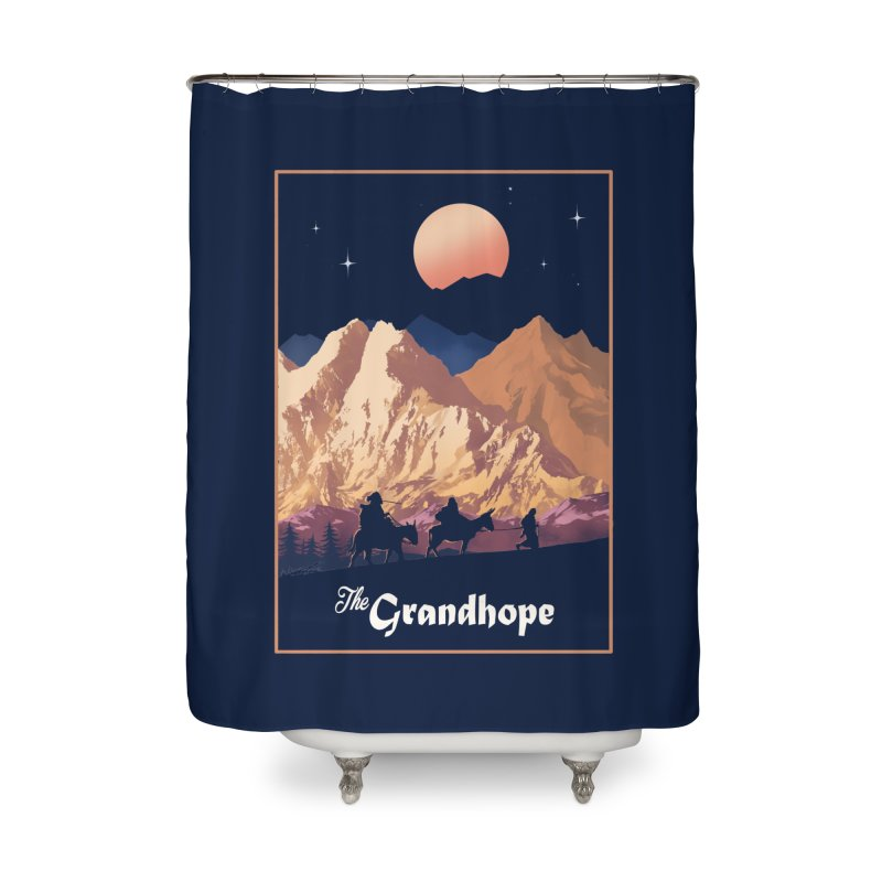The Grandhope Home Shower Curtain by SPYKEEE's Artist Shop