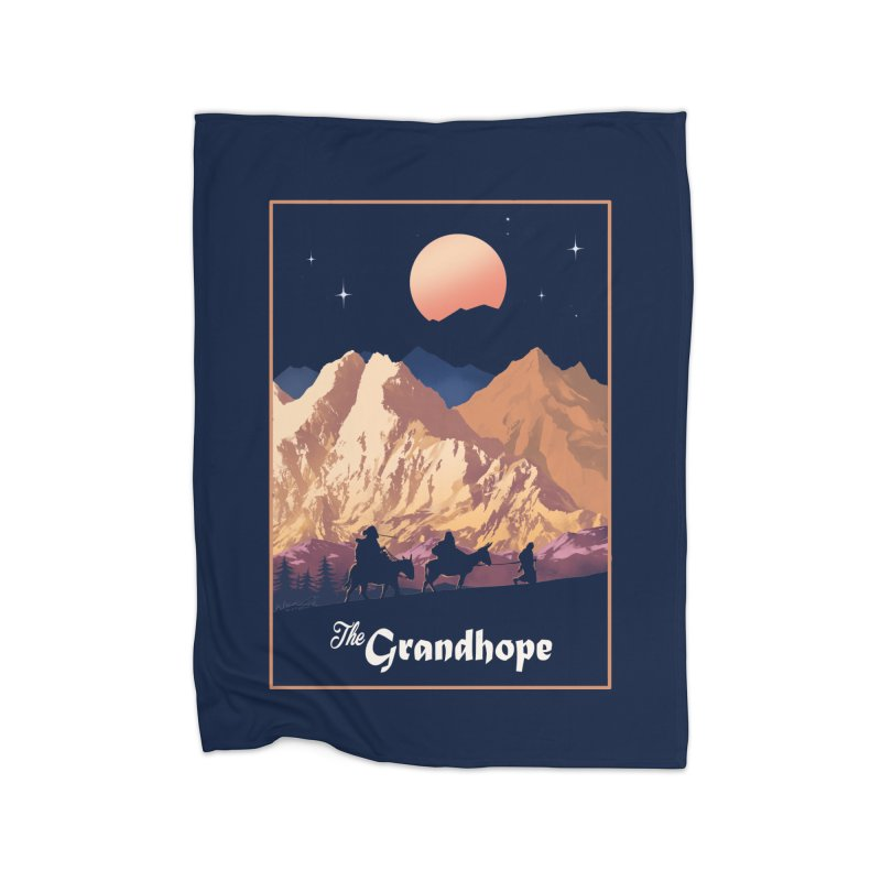 The Grandhope Home Fleece Blanket Blanket by SPYKEEE's Artist Shop