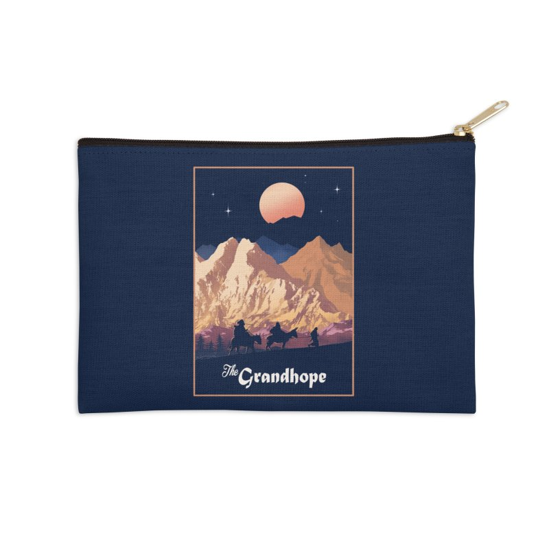 The Grandhope Accessories Zip Pouch by SPYKEEE's Artist Shop