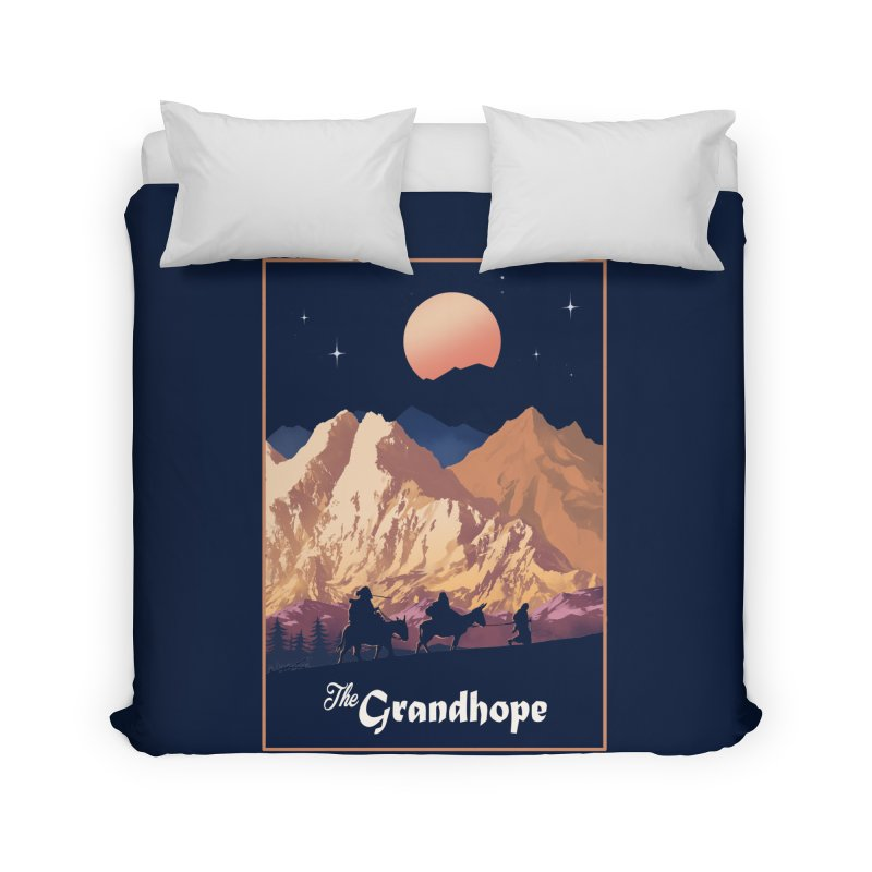 The Grandhope Home Duvet by SPYKEEE's Artist Shop