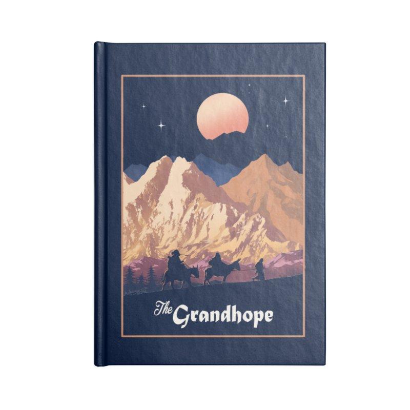 The Grandhope Accessories Blank Journal Notebook by SPYKEEE's Artist Shop
