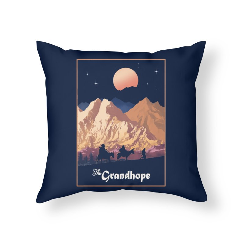 The Grandhope Home Throw Pillow by SPYKEEE's Artist Shop