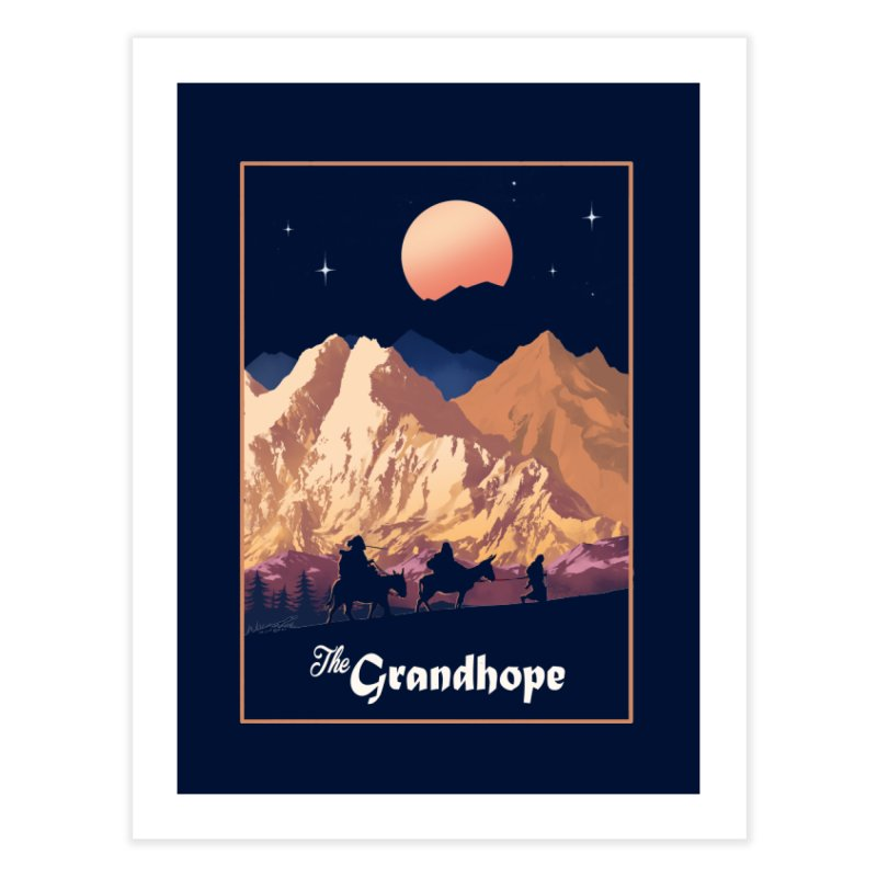 The Grandhope Home Fine Art Print by SPYKEEE's Artist Shop
