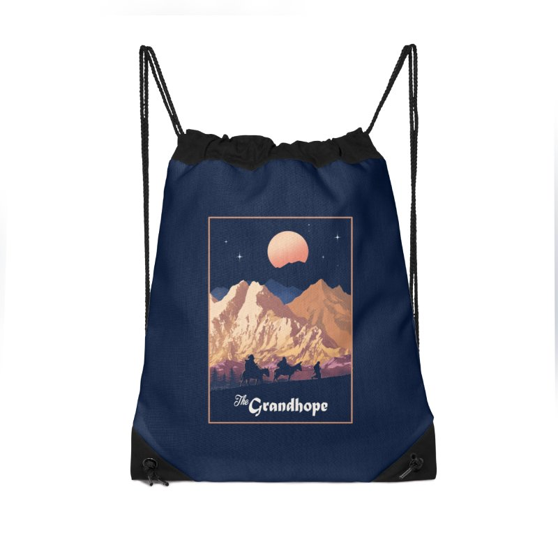 The Grandhope Accessories Drawstring Bag Bag by SPYKEEE's Artist Shop