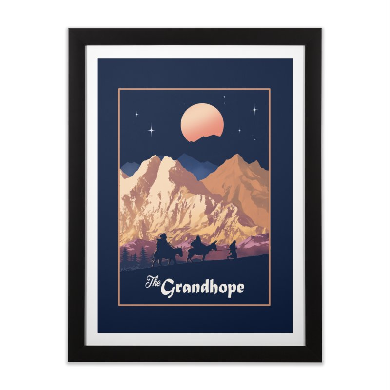 The Grandhope Home Framed Fine Art Print by SPYKEEE's Artist Shop