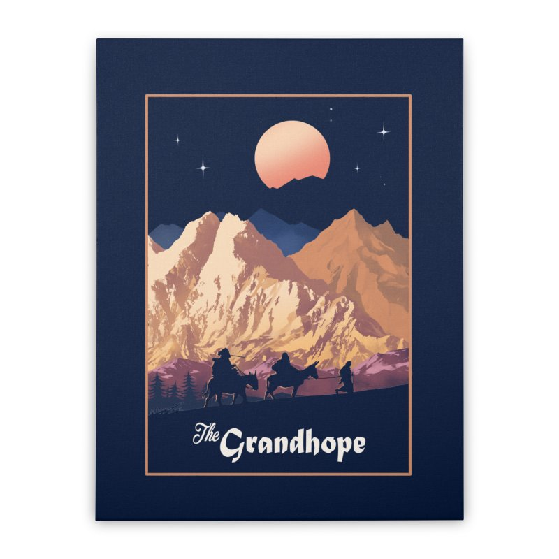 The Grandhope Home Stretched Canvas by SPYKEEE's Artist Shop