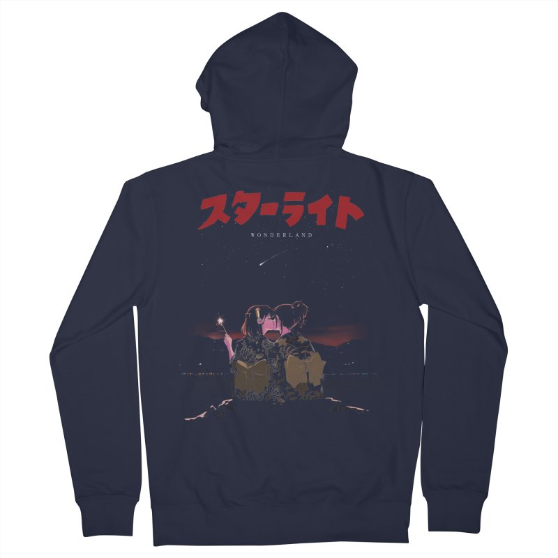 Starlight Men's French Terry Zip-Up Hoody by SPYKEEE's Artist Shop