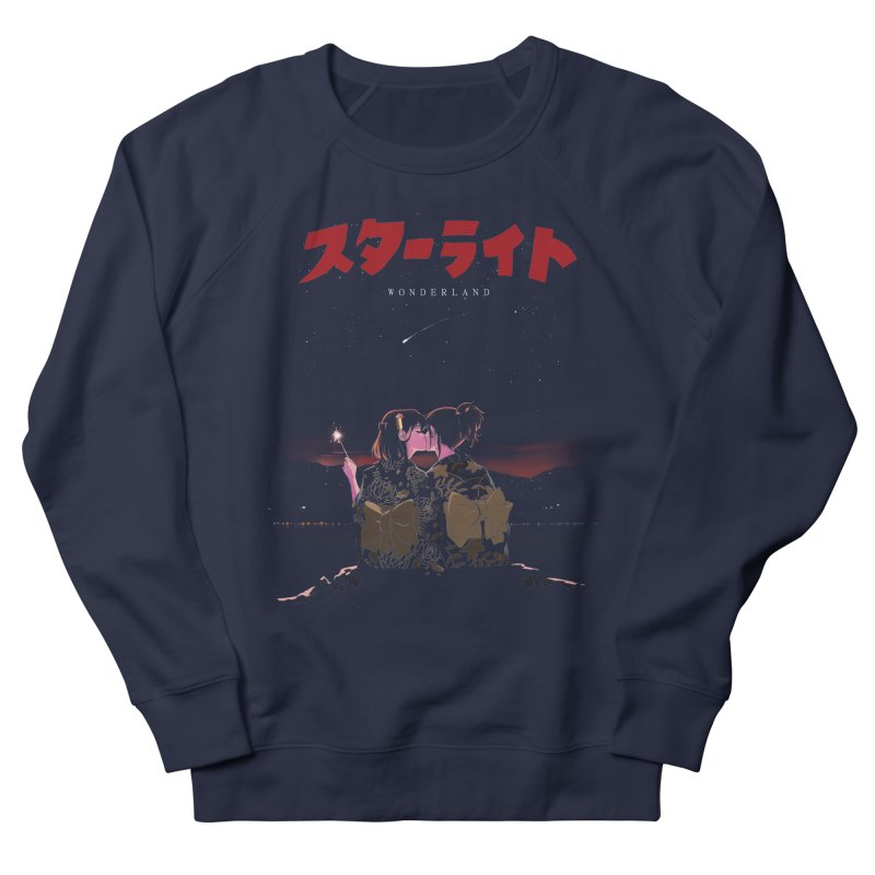 Starlight Men's French Terry Sweatshirt by SPYKEEE's Artist Shop