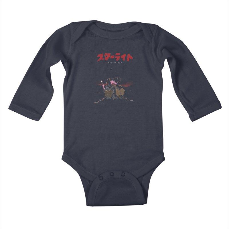 Starlight Kids Baby Longsleeve Bodysuit by SPYKEEE's Artist Shop